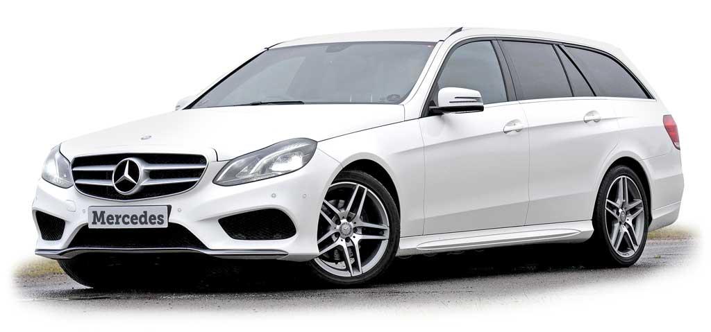 Mercedes Benz Kombi weiss Autoankauf