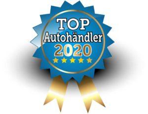 Siegel 5-Sterne TOP Autohändler 2020