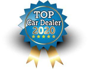 sceau 5-etoiles TOP Car Dealer 2020