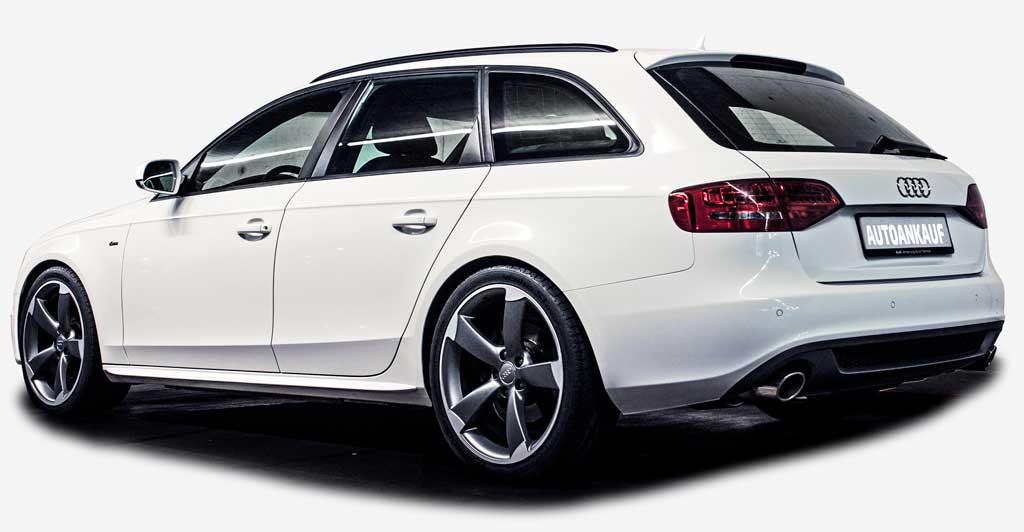 Audi A4 Kombi S-Line autoankauf-schweiz